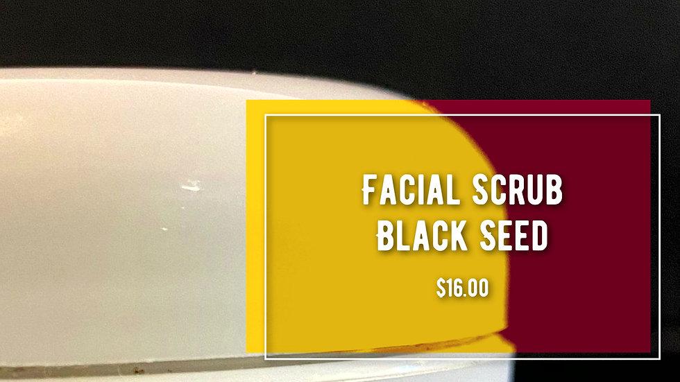 Facial Scrub Black Seed