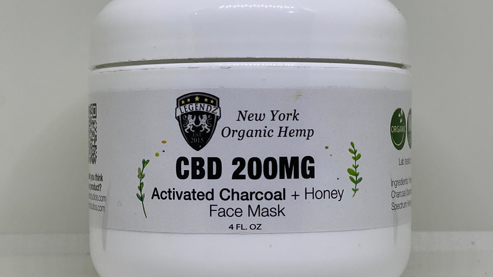 CBD Charcoal +Honey face mask