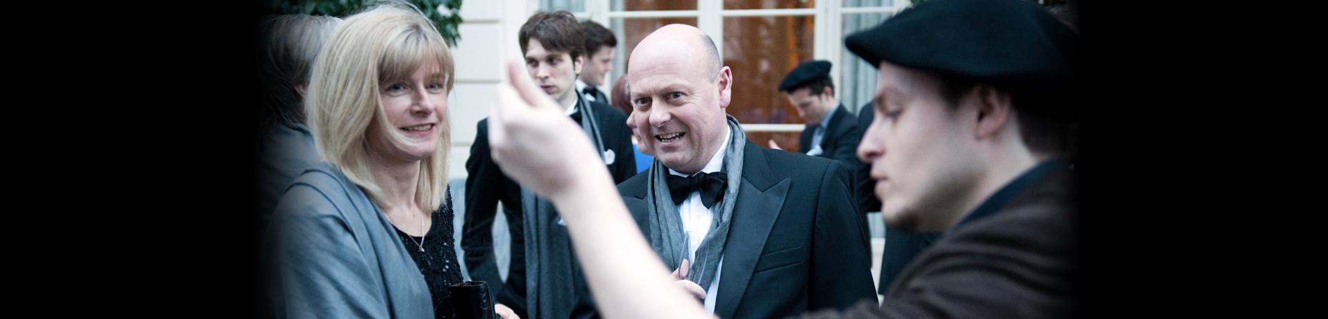 London magician Jack Lenoir in Versailles