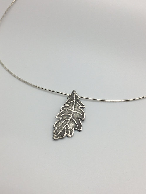 Leaf Pendant (Antiqued)