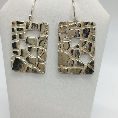 Stone Textured Earrings