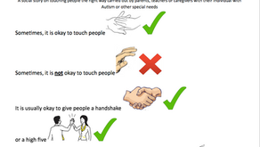 Touching Others : A Social Story for People with Autism and Other Special Needs