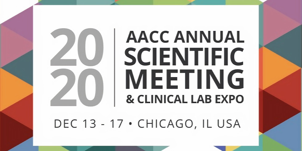 AACC Anual Scientific Meeting(American Association of Clinical Chemistry)