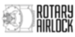 ROTARY AIRLOCK LOGO (Black, Horizontal).