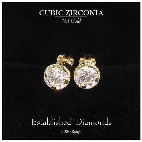Gold Earrings (Larger)