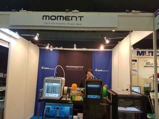 모멘트, 1년 안돼 3D 프린터 10개국 수출... 일본 등 1000여대 수출