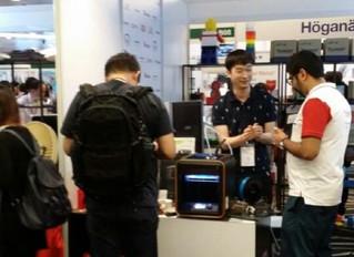 3D프린터 전문기업 '모멘트', 싱가포르&일본 전시회 참가