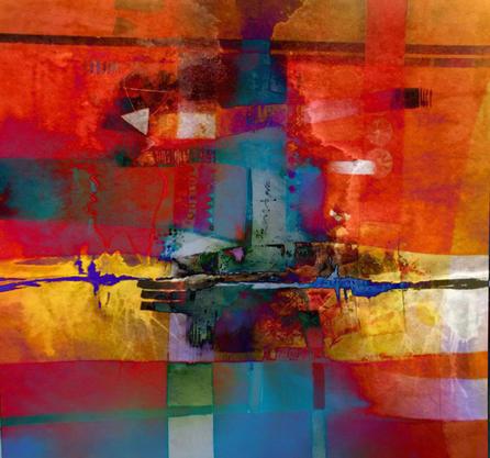 "Oil Painting, 24x24"" (61x61cm)"