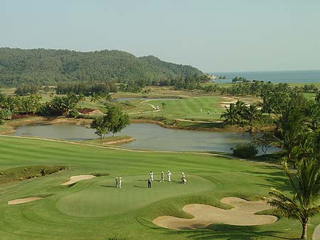 Xinglong Ocean Bay GC, Hainan China