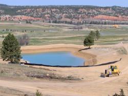 HDPE lake liner, Wyoming