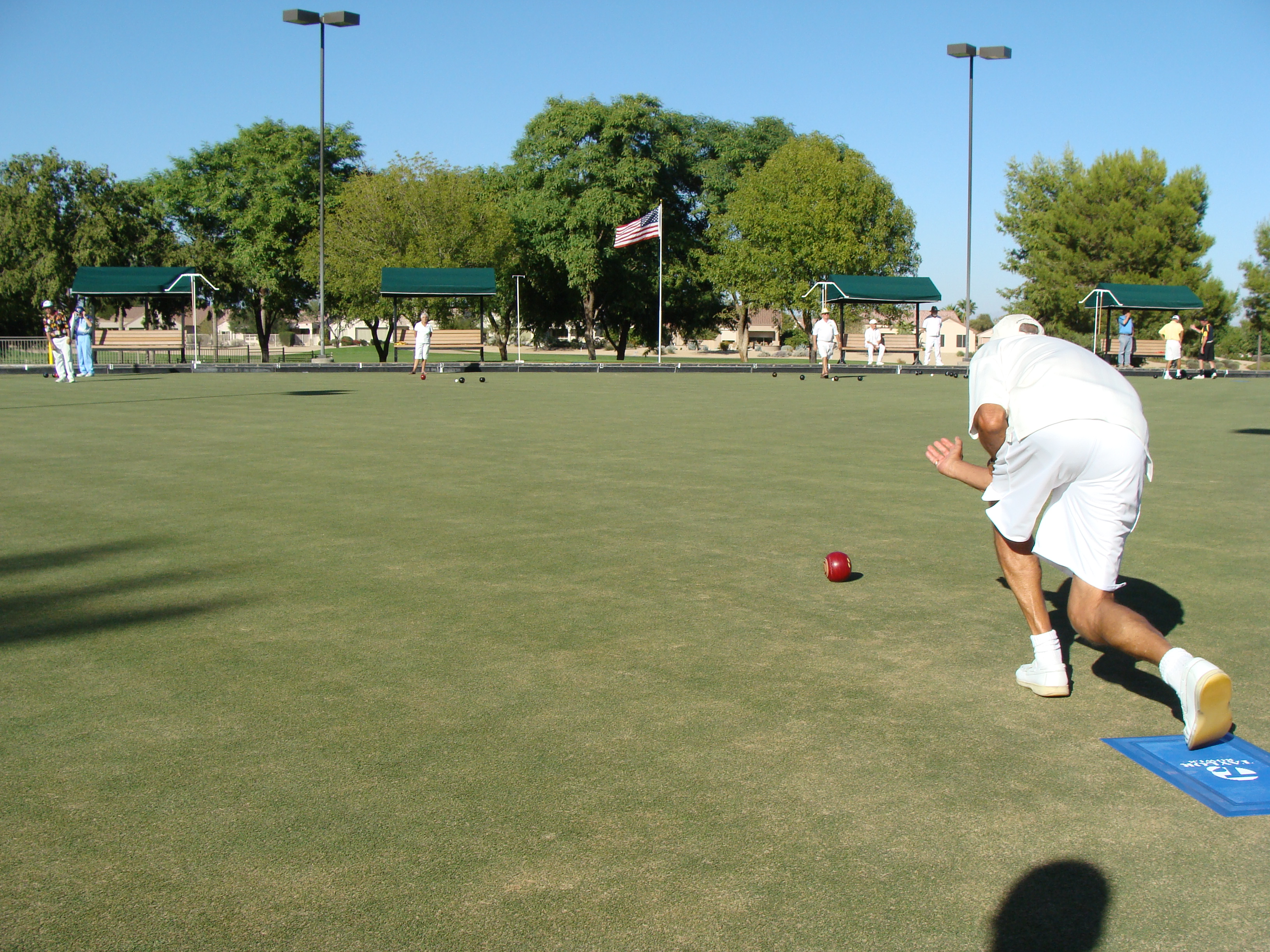 Lawn Bowling Green - After