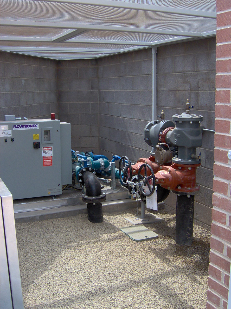 Booster Pump Installation