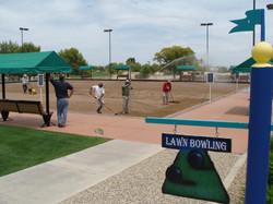 20,000s.f. lawn bowling green renov.