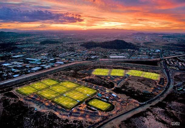 City Phoenix Reach 11 Sports Complex