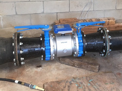 Analog to Magnetic Flow Meter Replacement