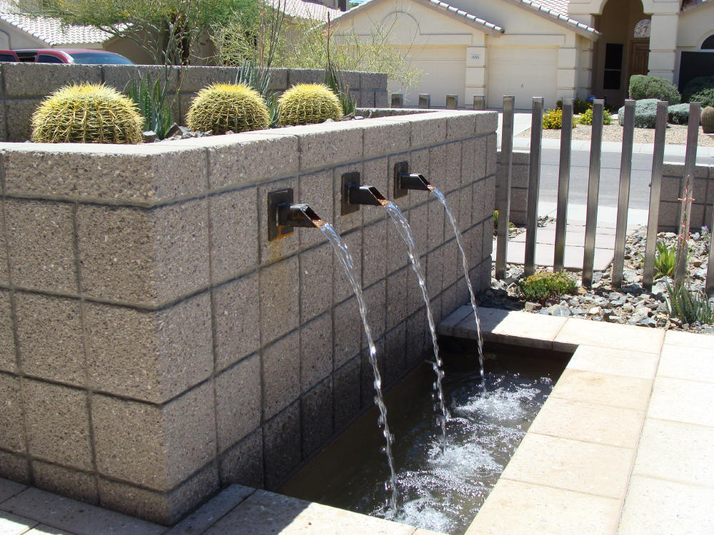 Entry Fountain Design-Build