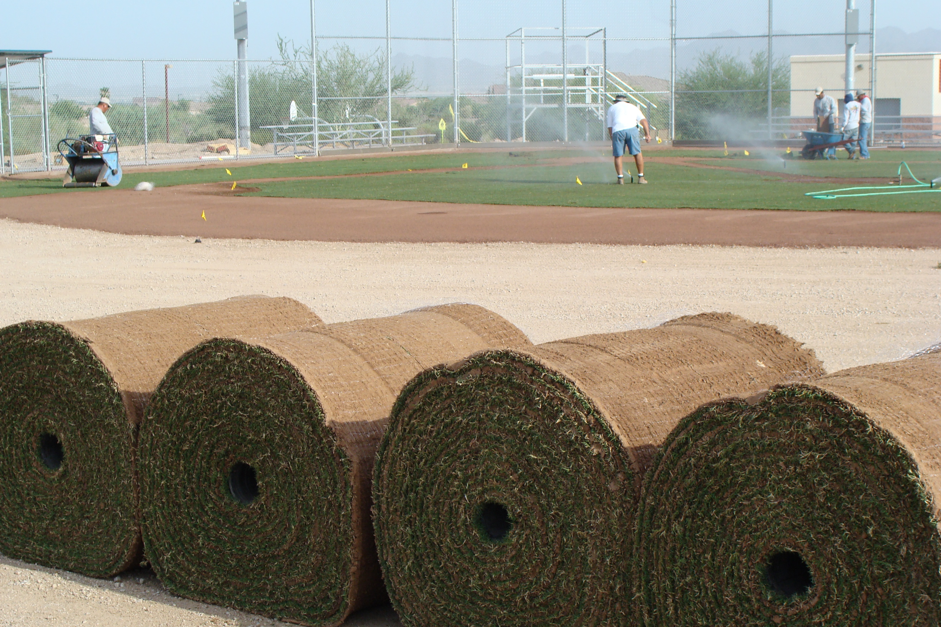 Baseball Field Construction