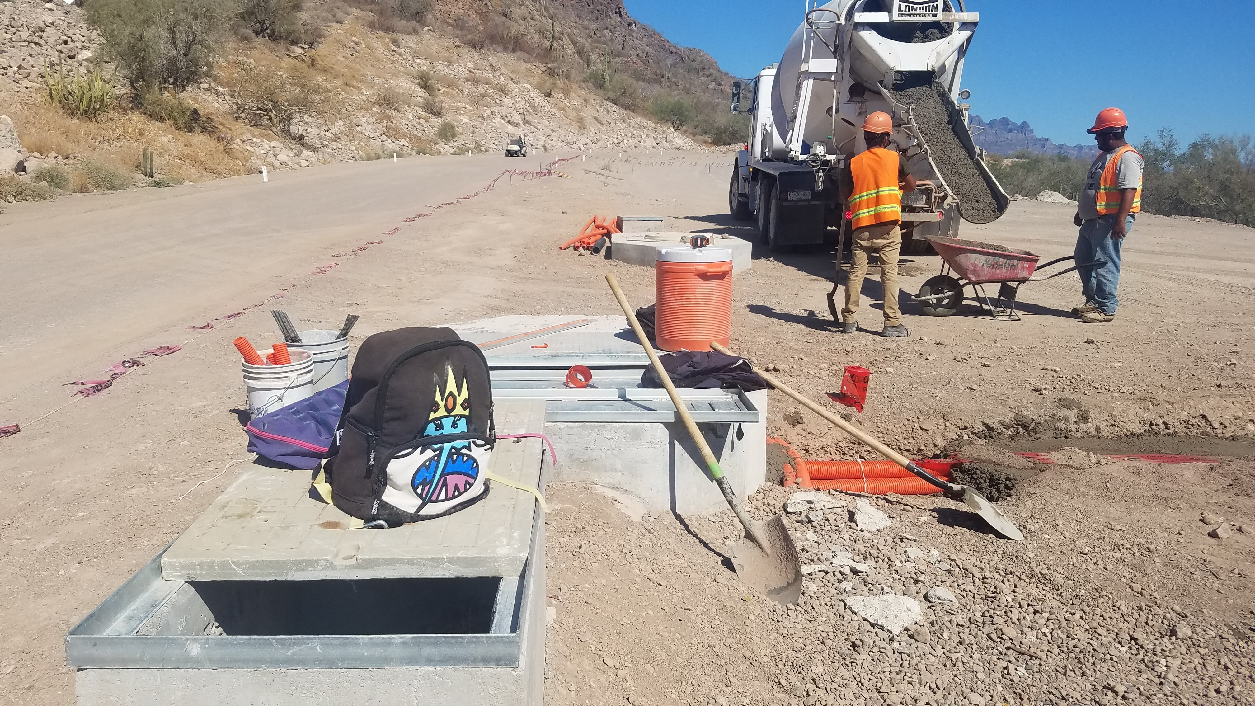 Fiber Optic Cable Install