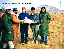 Gary Kaye with Scott Miller, Qingdao
