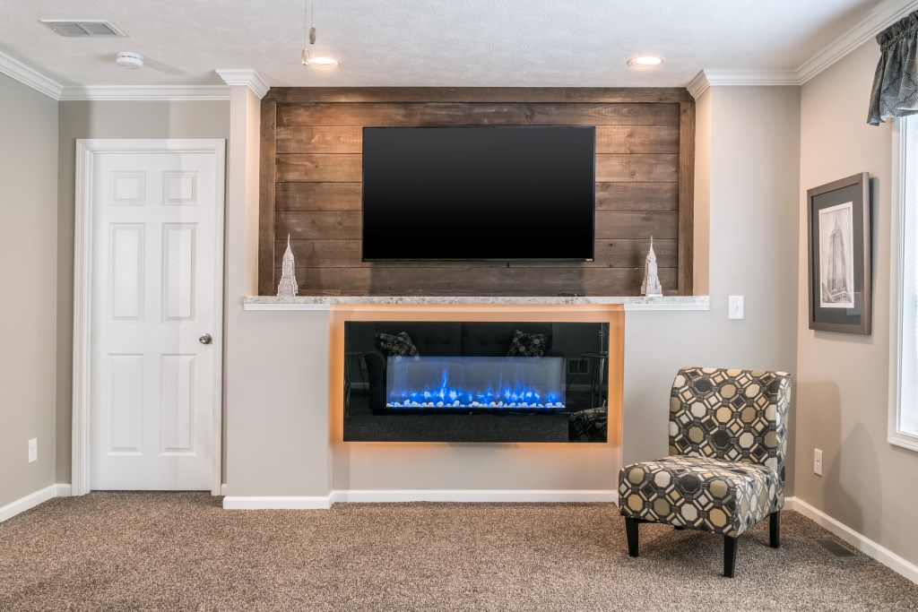 LED Fireplace