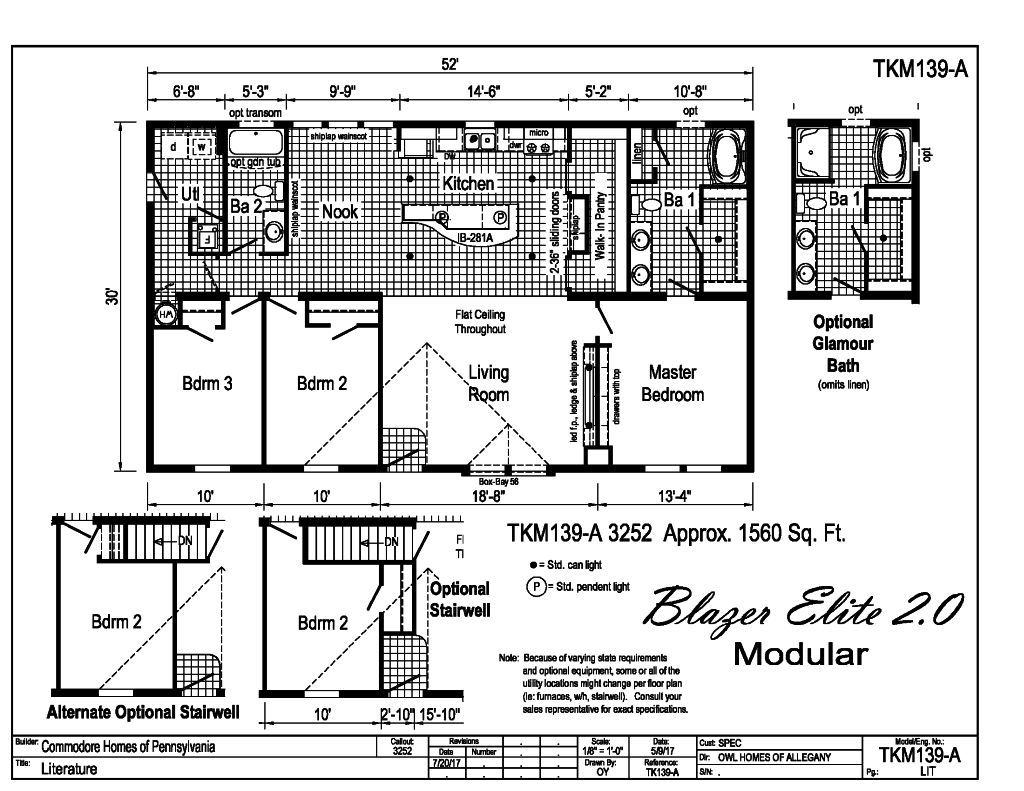 TKM 139A Floorplan
