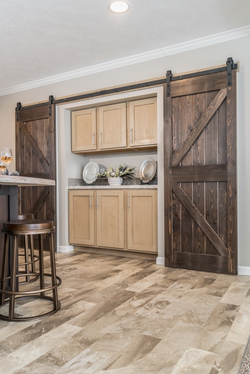 Barnwood Door pantry