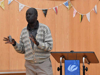 Rev Patrick Jok - Thursday 10 May