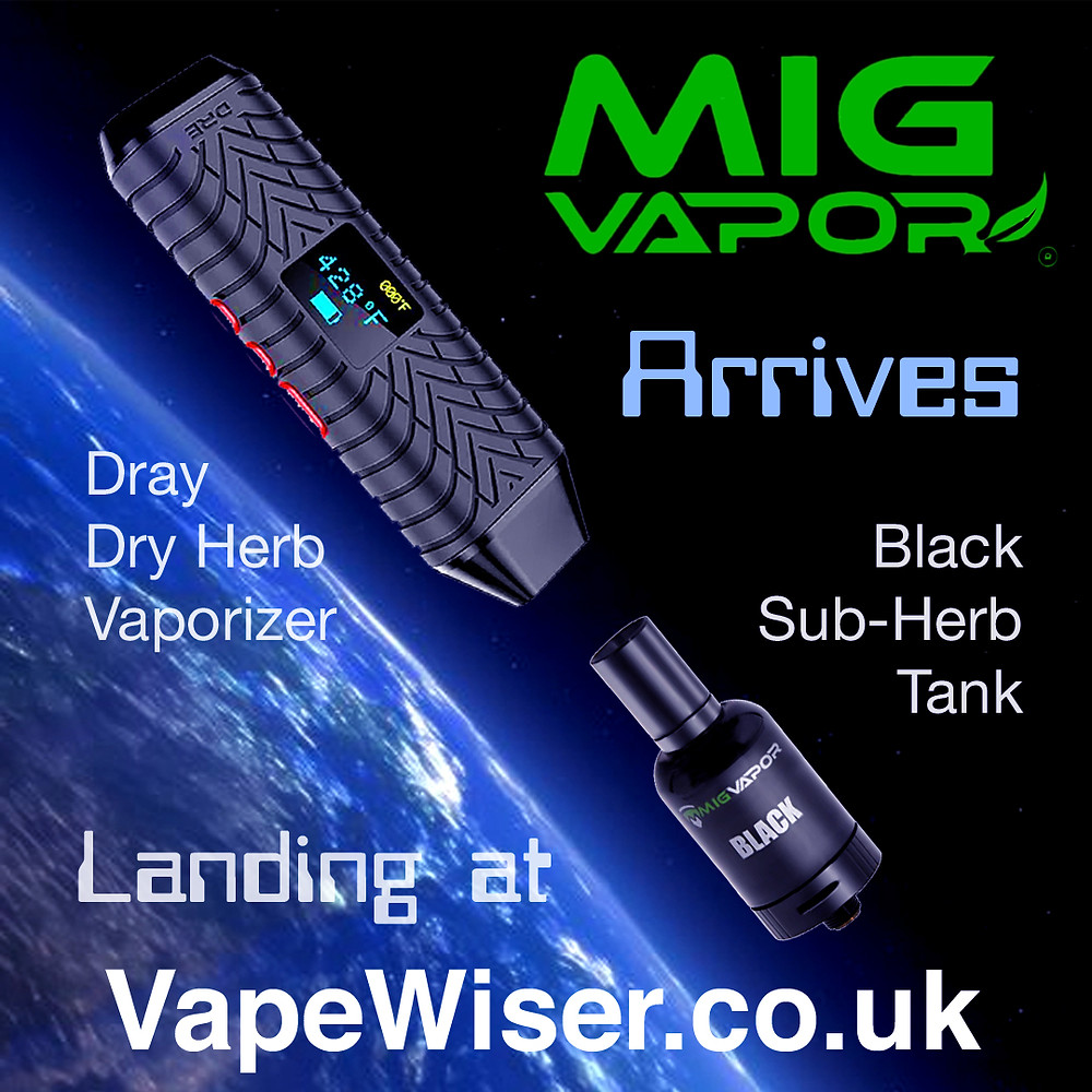 Mig Vapor Dray and Black Sub-Herb