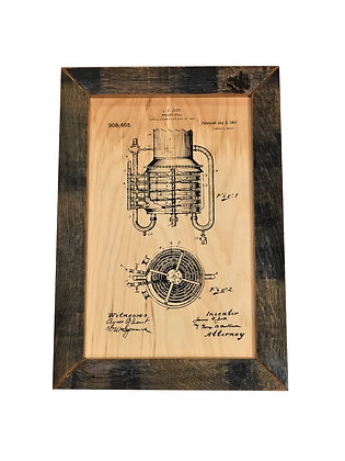 1909 Whiskey Still Patent 1 of 2