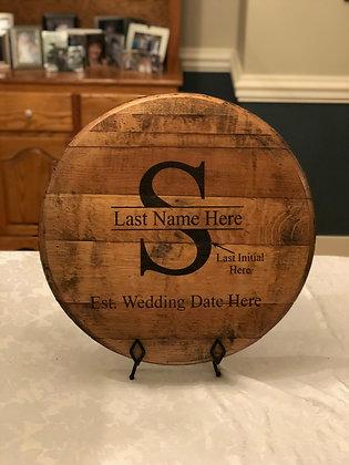 Custom Wedding Head