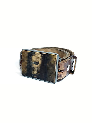 (5) Barrel Wood Belt Buckles (click to add more)