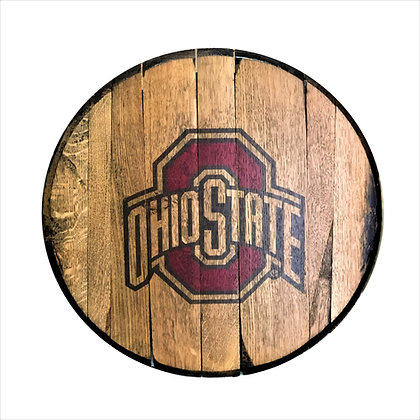 Ohio State Barrel Head
