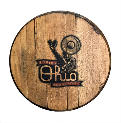 Script Ohio Barrel Head