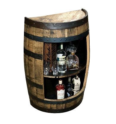 Half-Barrel Mini-Bar