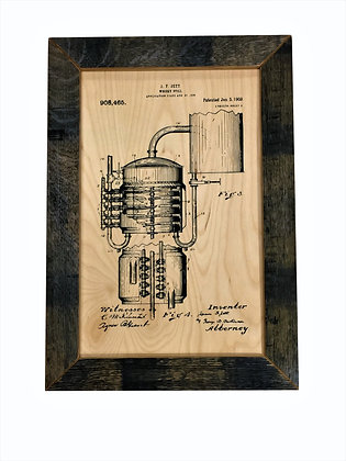 1909 Whiskey Still Patent 2 of 2