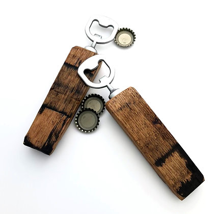 Barrel Stave Bottle Opener