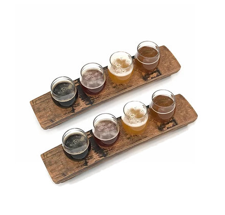 Barrel Stave Beer Flight Set(2 Intermediate)