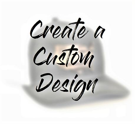 NEW! Custom Designed Hat