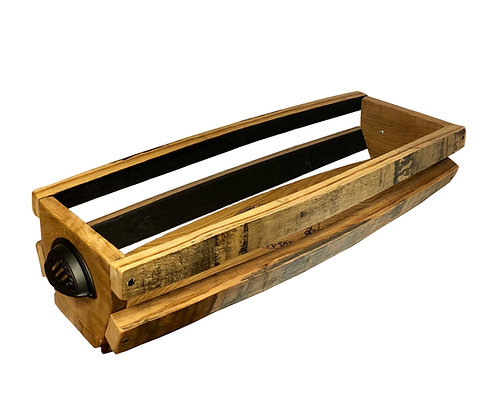 Barrel Stave Table Basket