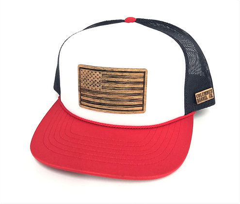 Stars & Stripes Foamie Trucker