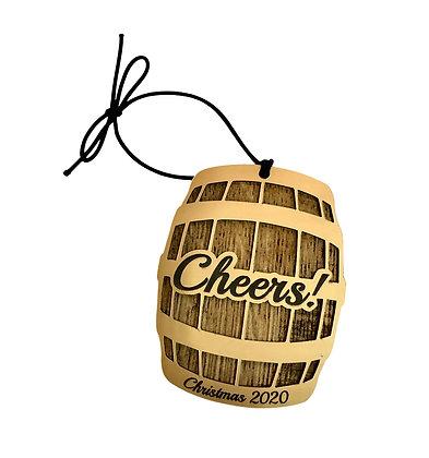2020 Barrel Ornament