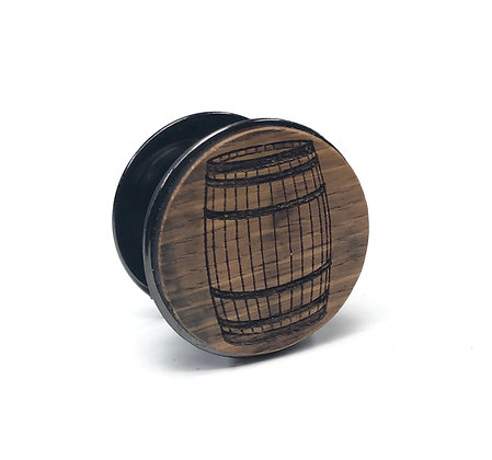 Barrel Wood Phone Grip