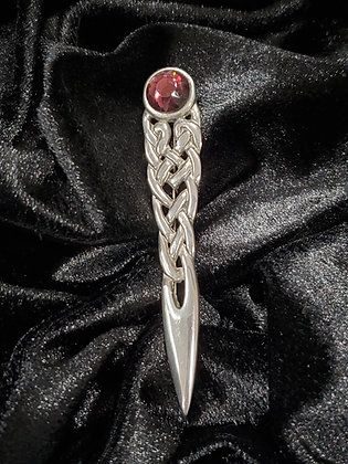 Celtic Knot Sword with Purple Stone