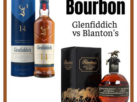Drink a Dram with Delin: Bourbon- Glenfiddich vs Blanton's