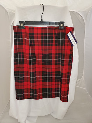 Candy Couture Plaid Skirt