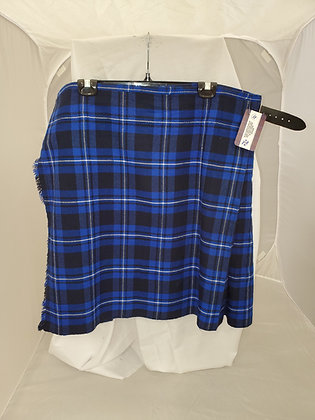 Highland Blue Casual Kilt