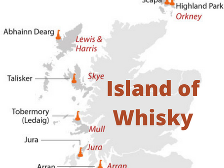 Drink a Dram with Delin: A Trip to the Island(s) of Whisky