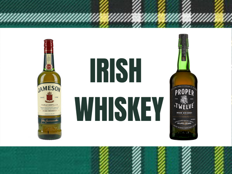 Drink a Dram with Delin: Honoring St. Patrick's Day with some Irish Whiskey