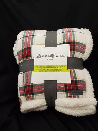 Eddie Bauer Plaid Blanket, Full/Queen