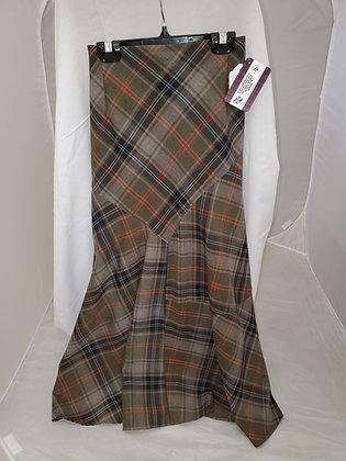 Jessica Ladies Plaid Skirt